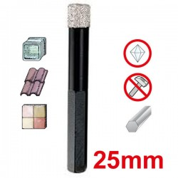 KEIL Keramik Diamond Dry Drill Διαμαντοτρύπανο 25mm