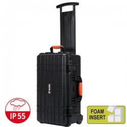 YATO YT-08905 Αδιάβροχη τροχήλατηπλαστική βαλίτσα - εργαλειοθήκη με προστατευτικό αφρολέξ