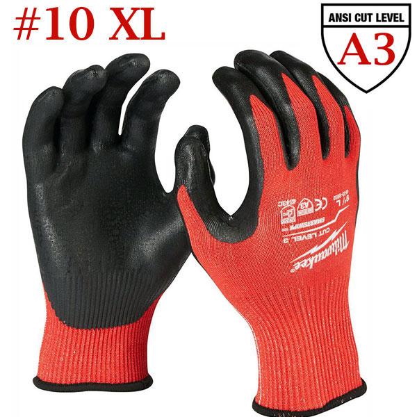 MILWAUKEE CUT LEVEL 3 Γάντια εργασίας XLarge No10 (4932471422)