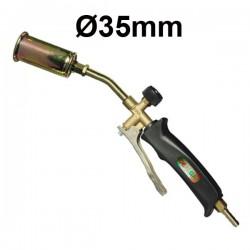 IDEALGAS FCL105/35 Φλόγιστρο αερίου μπουρού Ø35 με σκανδάλη