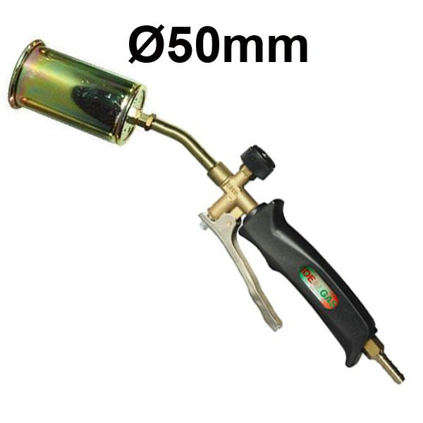 IDEALGAS FCL105/50 Φλόγιστρο αερίου μπουρού Ø50 με σκανδάλη