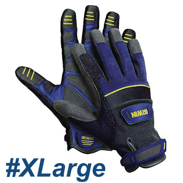 IRWIN 10503823 Γάντια εργασίας General Construction #XLarge