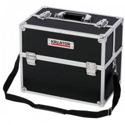 KREATOR KRT640301B Βαλίτσα αλουμινίου με θήκες