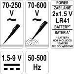 YATO YT-2864 Κατσαβίδι δοκιμαστικό LED