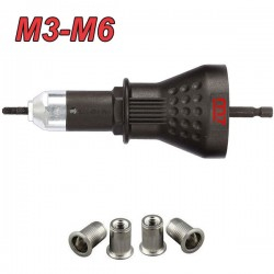 M7 PB-9006 Πριτσιναδόρος δράπανου για πριτσινοπαξιμάδια Μ3-Μ6