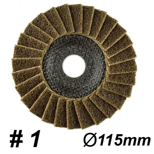 DRONCO SUPERIOR POLIMAXX 1 COARSE Δίσκος πολύπτερος χονδρός Φ115mm (5541204100)