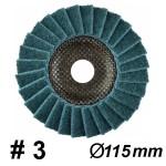 DRONCO SUPERIOR POLIMAXX 3 FINE Δίσκος πολύπτερος ψιλός Φ115 (5541207100)