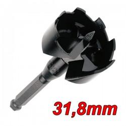 "MILWAUKEE 48251252 Τρυπάνι ξύλου Fostner αυτοτροφοδοτούμενο 31.8mm (1 1/4"")"