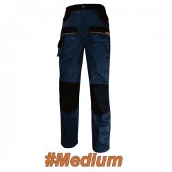 FERRELI BOLTON 16-304-652 Παντελόνι εργασίας μπλε - μαύρο #Medium