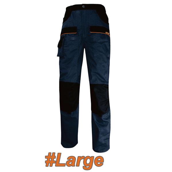 FERRELI BOLTON 16-304-653 Παντελόνι εργασίας μπλε - μαύρο #Large