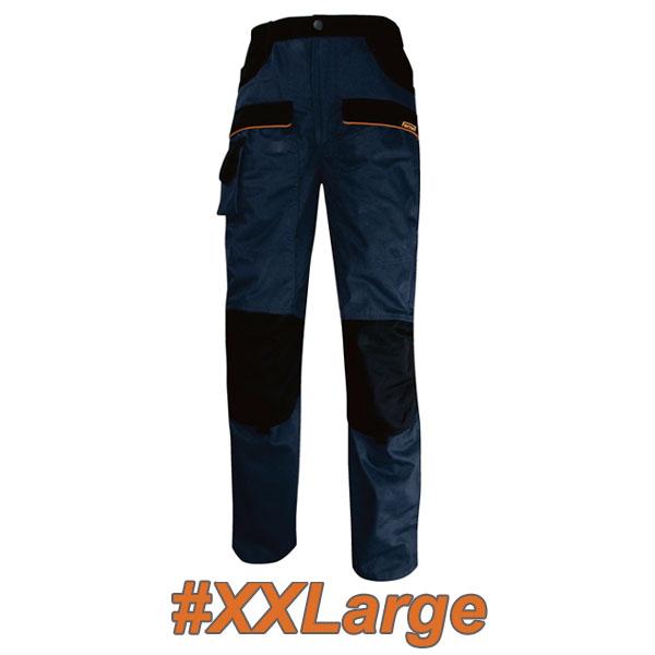 FERRELI BOLTON 16-304-655 Παντελόνι εργασίας μπλε - μαύρο #XXLarge