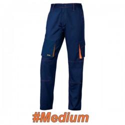 FERRELI BIZARO 16-304-622 Παντελόνι εργασίας μπλε - πορτοκαλί #Medium