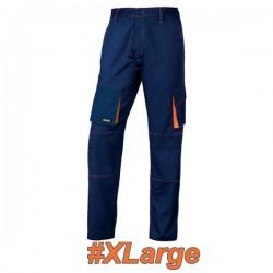 FERRELI BIZARO 16-304-624 Παντελόνι εργασίας μπλε - πορτοκαλί #XLarge
