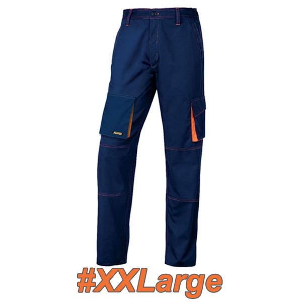FERRELI BIZARO 16-304-625 Παντελόνι εργασίας μπλε - πορτοκαλί #XXLarge