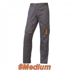 FERRELI BIZARO 16-304-632 Παντελόνι εργασίας γκρι- πορτοκαλί #Medium