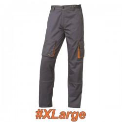 FERRELI BIZARO 16-304-634 Παντελόνι εργασίας γκρι- πορτοκαλί #XLarge