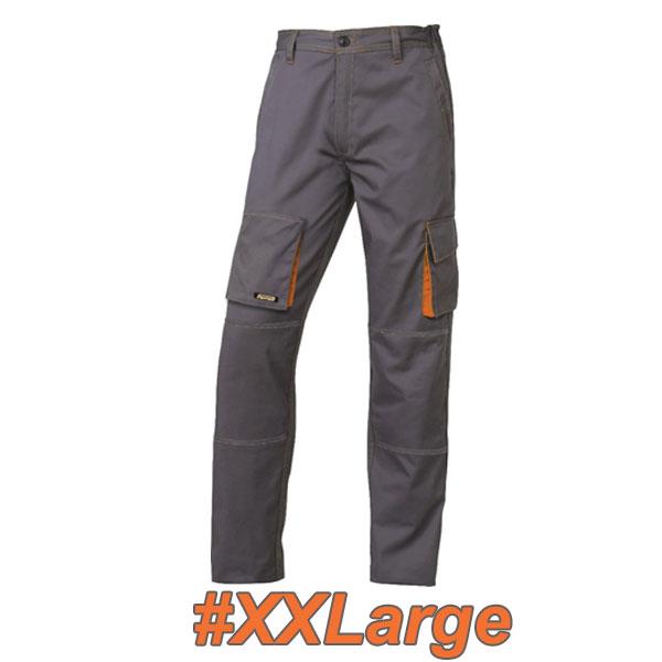 FERRELI BIZARO 16-304-635 Παντελόνι εργασίας γκρι- πορτοκαλί #XXLarge