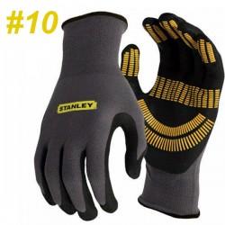 STANLEY SY510L EU Γάντια εργασίας αντιολισθητικά-αντιχαρακτικά No10