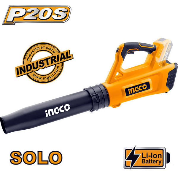 INGCO CABLI2002 Φυσητήρας φύλλου μπαταρίας 20V Li-Ion SOLO (χωρίς μπαταρία και φορτιστή)