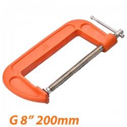 """HARDEN 600204 Σφιγκτήρας τύπου G 8"""" (200mm)"""