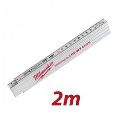 MILWAUKEE 4932459301 Πτυσσόμενο μέτρο συνθετικό 2m