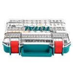 TOTAL TACSD13571 Εξαρτήματα μίνι πολυεργαλείου 357τεμ