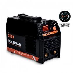 KRAUSMANN Ηλεκτροκόλληση INVERTER MMA-TIG IGBT 120A (2520)
