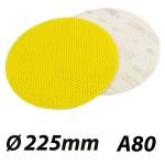 JOST SUPERPAD 423-A80 Δίσκος γυαλόχαρτο τριβείου τοίχου (velcro) Ø 225
