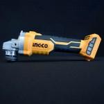 INGCO CAGLI1152 Γωνιακός τροχός 20V BRUSHLESS SOLO (χωρίς μπαταρία και φορτιστή)