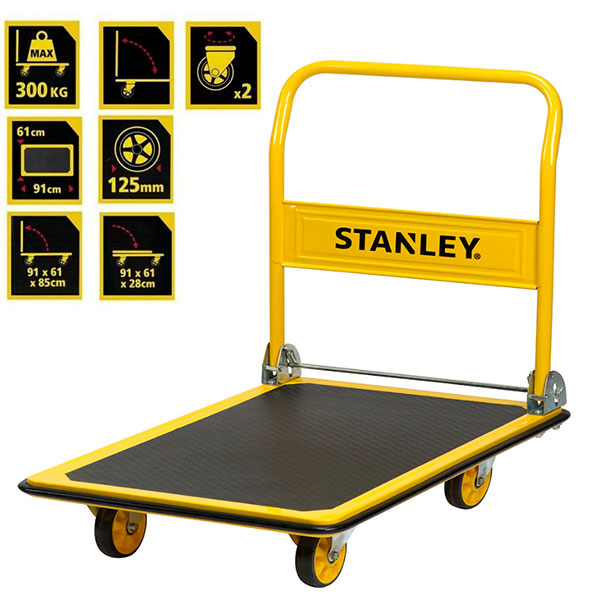 STANLEY SXWTD-PC528 Πτυσσόμενο καρότσι - πλατφόρμα 300kg