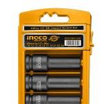 "INGCO HKISSD12102L Καρυδάκια 1/2"" αέρος μακριά σειρά 10τεμ"