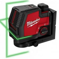 MILWAUKEE L4 CLL-301C Αλφάδι LASER 2 γραμμών πράσινης δεσμίδας USB (4933478098)