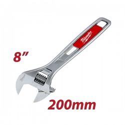 """MILWAUKEE 48227508 Γαλλικό κλειδί 200mm/8"""""""