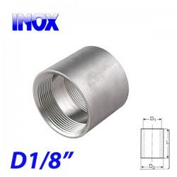 "INOX 304 Μούφα 1/8"""