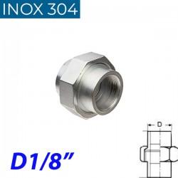 """INOX 304 Ρακόρ 1/8"""""""
