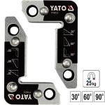 YATO YT-08722 Γωνίες μαγνητικές ηλεκτροκόλλησης 25kg (2τεμ)