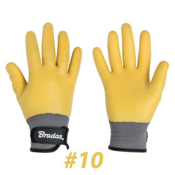 BRADAS RWD10 Γάντια LATEX DESERT #10