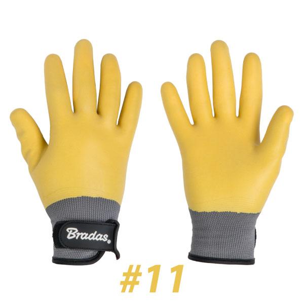 BRADAS RWD11 Γάντια LATEX DESERT #11