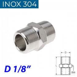 "INOX 304 Νίπελ 1/8"""