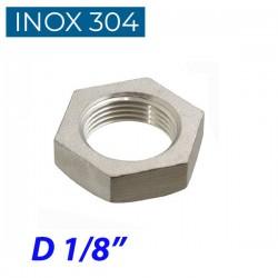 "INOX 304 Παξιμάδι 1/8"""