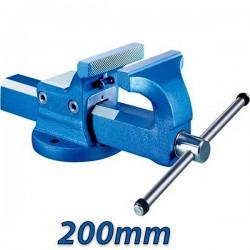KANCA FORTISSIMO 60210020200 Μέγγενη ατσάλινη πάγκου σταθερή 200mm