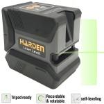 HARDEN 581002 Αλφάδι LASER Πράσινης δέσμης 15m