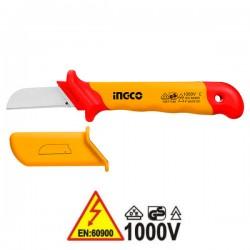 INGCO HICK1801 Μαχαίρι - απογυμνωτής καλωδίων ίσιος 1000V VDE ηλεκτρολόγου