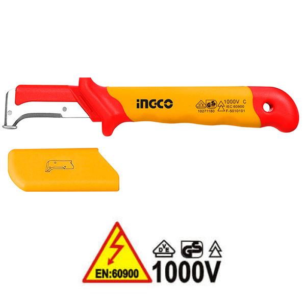 INGCO HIDCK1851 Μαχαίρι - απογυμνωτής καλωδίων κυρτό 1000V VDE ηλεκτρολόγου