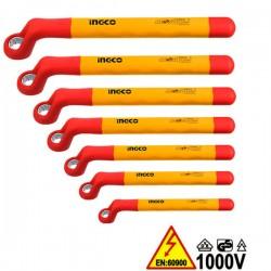 INGCO HKISPA0702 Σειρά κλειδιά πολύγωνα 1000V VDE ηλεκτρολόγου (7 τεμ)