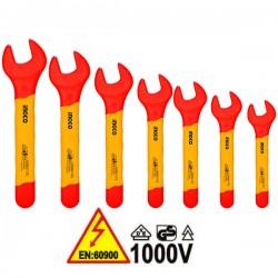 INGCO HKISPA0701 Σειρά κλειδιά γερμανικά 1000V VDE ηλεκτρολόγου (7 τεμ)