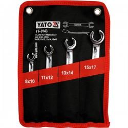 YATO YT-0143 Σειρά κλειδιά ρακόρ (4τεμ)