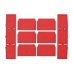MILWAUKEE PACKOUT DRAWER DIVIDERS Διαχωριστές συρταριέρας 3 συρταριών (4932479104)