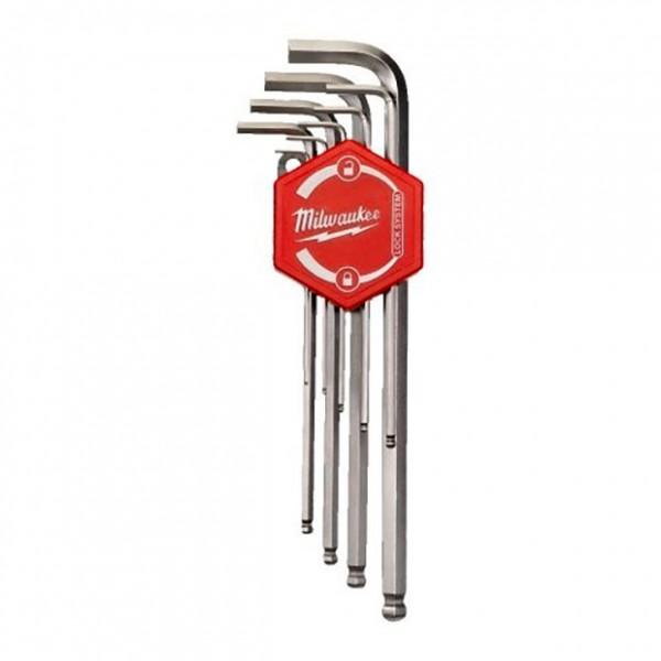 MILWAUKEE 4932478621 Σειρά κλειδιά ALLEN μπίλιας 9 τεμ