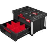MILWAUKEE 4932472129 Εργαλειοθήκη - συρταριέρα με δύο συρτάρια
